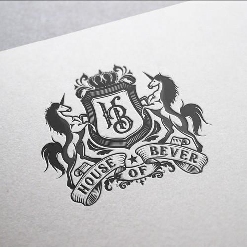 Old crest logo for House of Bever
