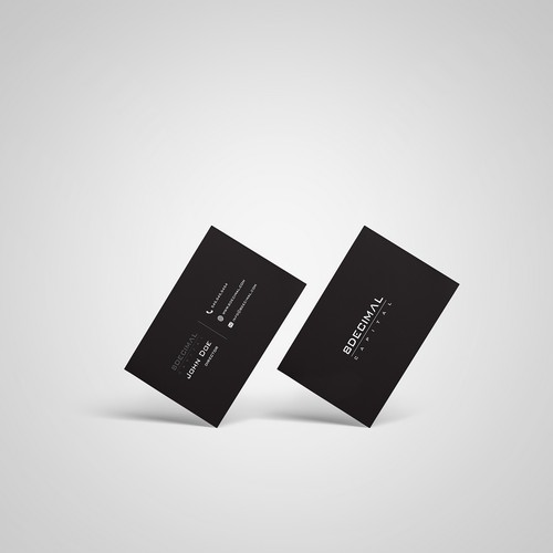Minimalistic logo and business card