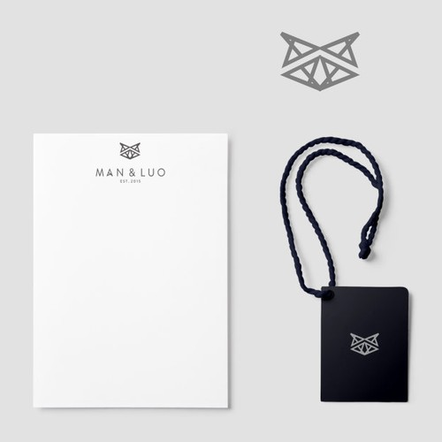 logo concept for clothing and bag brand