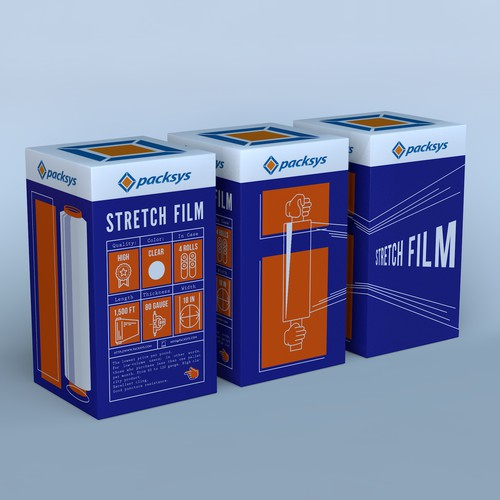 Box for Stretch Film