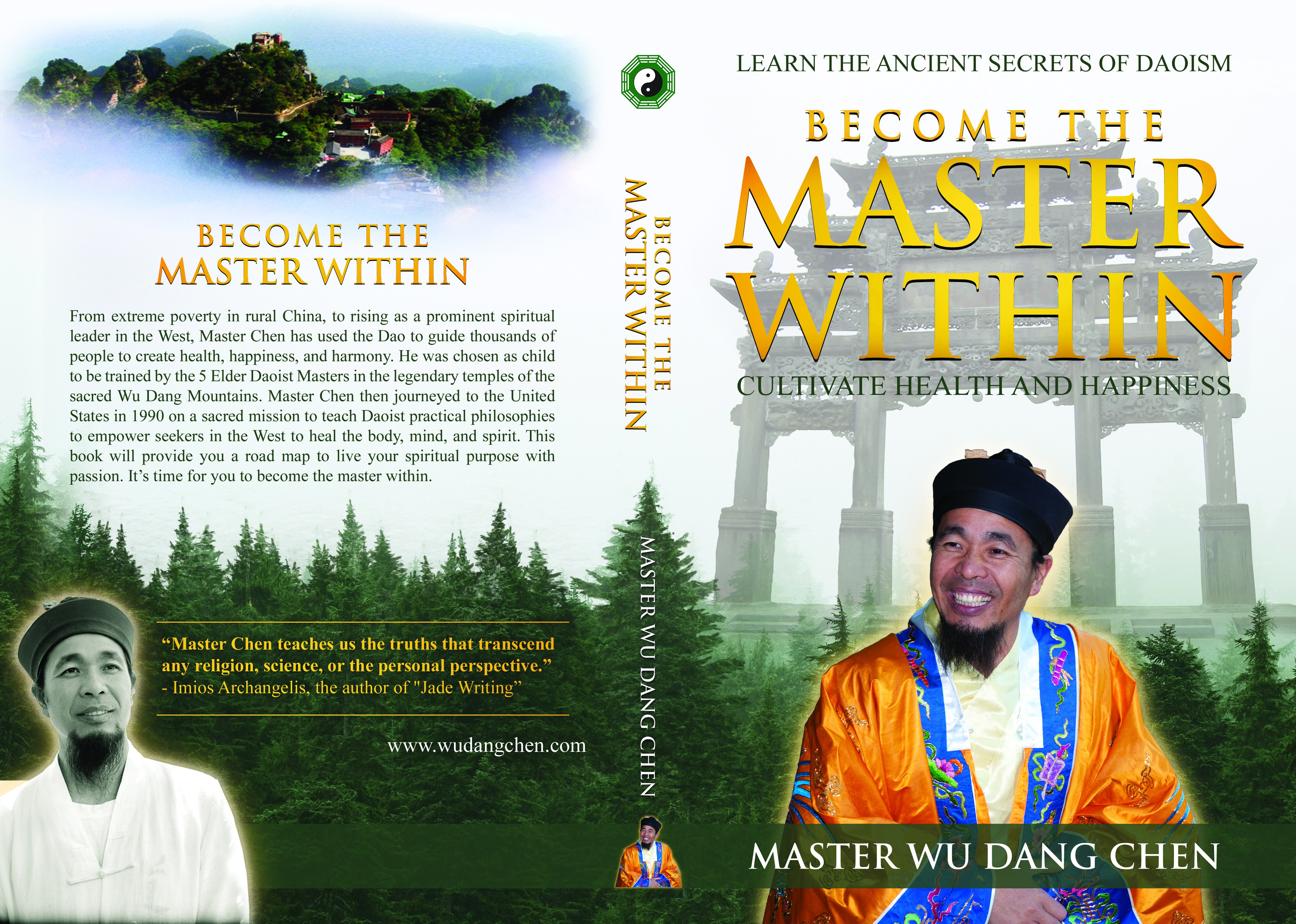 Master Within Book Cover for Daoist Kung Fu Master