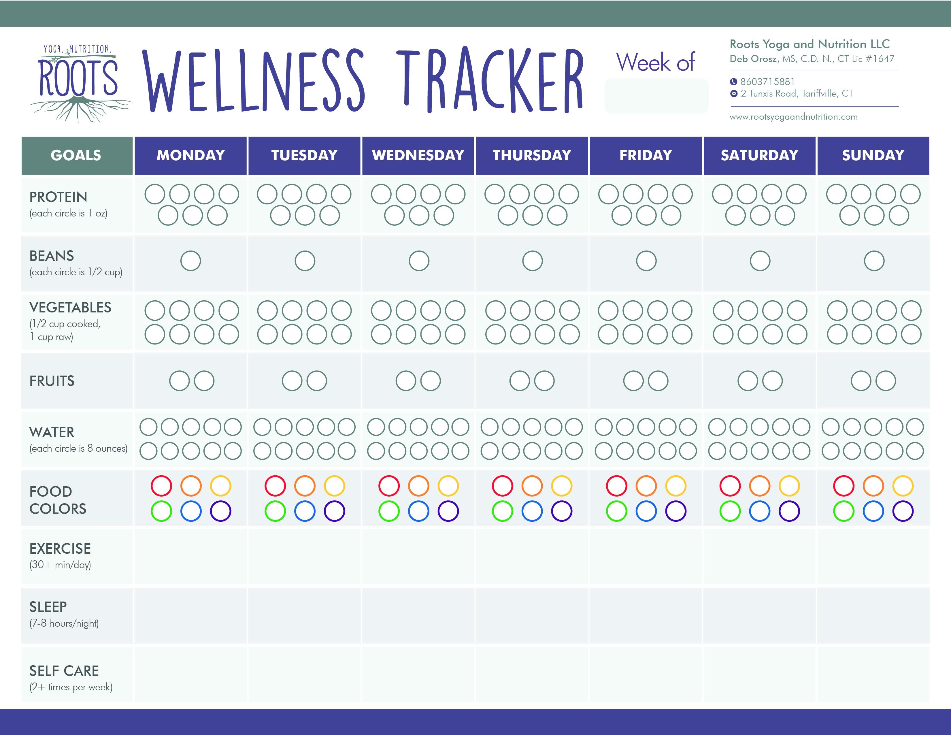 Wellness Tracker