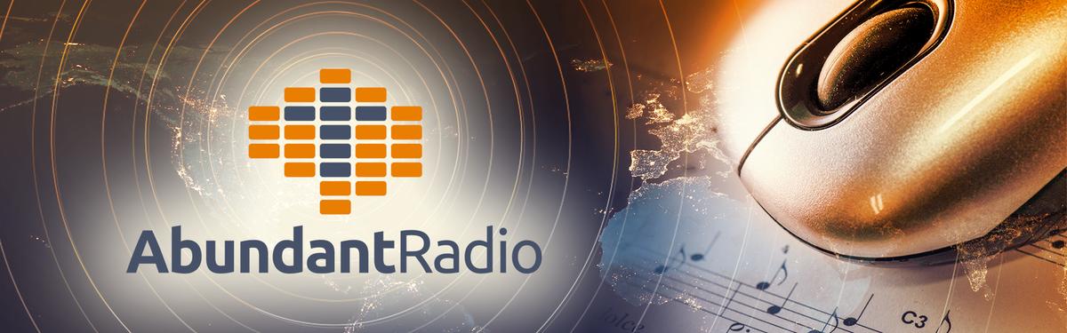 Abundant Radio - Listen Tab Header