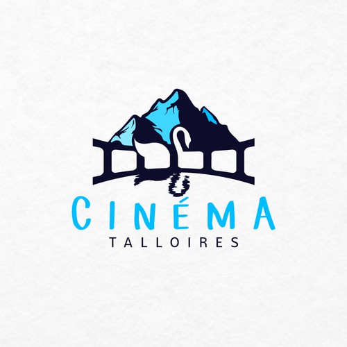Cinema Talloires needs an eye catching logo