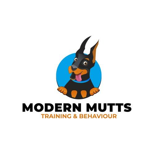Logo Design concept for dog training