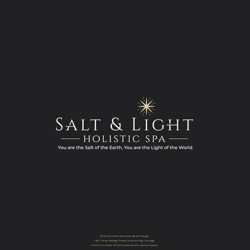 Salt and Light Holistic Spa Logo