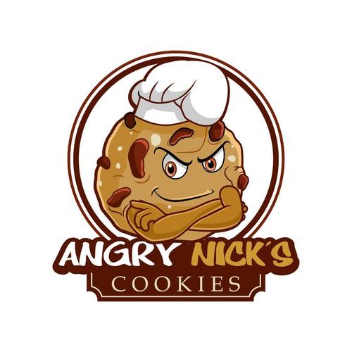 Angry Nick's Mascot/logo