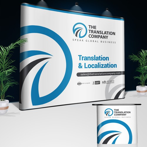 Banner for a Translation Company - Easy & Fast!