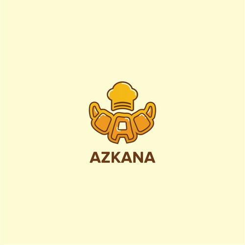 Logo design for Azkana
