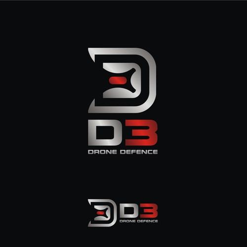 DRONE DEFENCE - Bold and clever logo