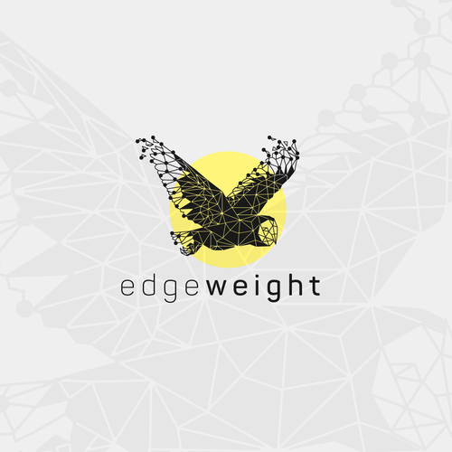 edge weight logo design