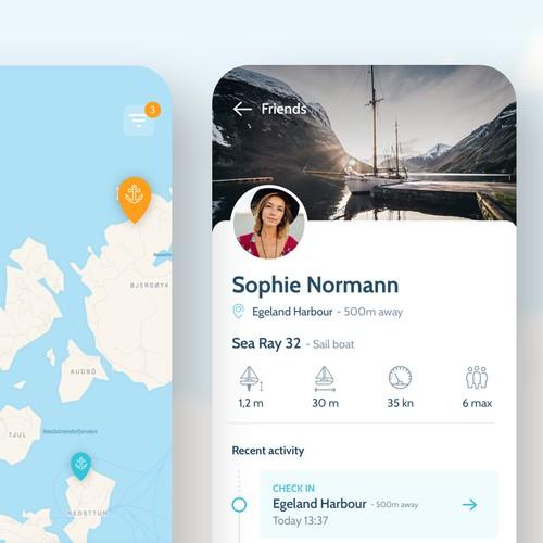 Harbour Finding App