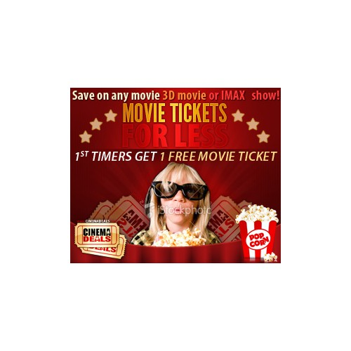 Help CinemaDeals.com with a new banner ad