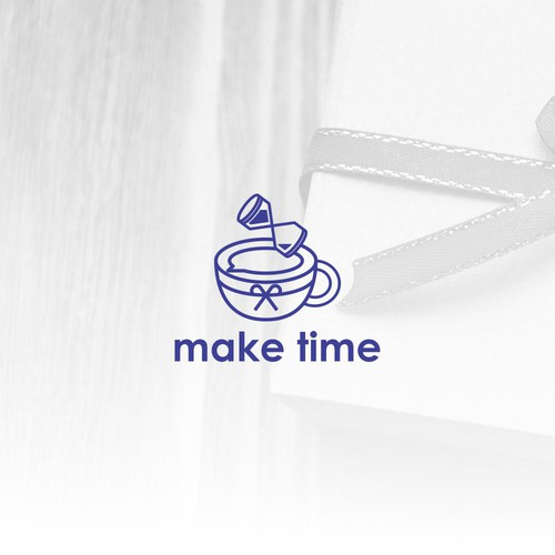 Make Time Logo design .