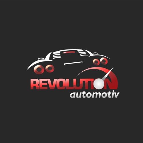 Revolution automotiv logo