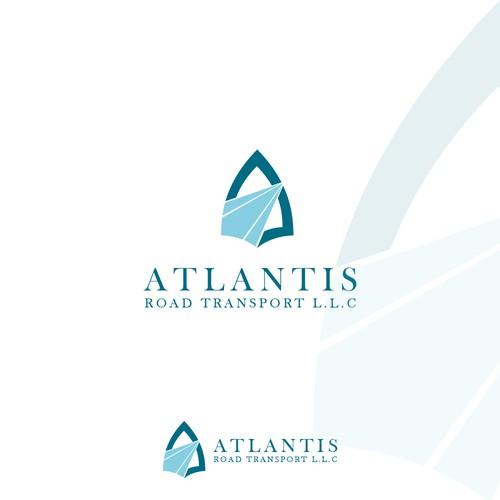 Atlantis Road Transport L.L.C Logo Design