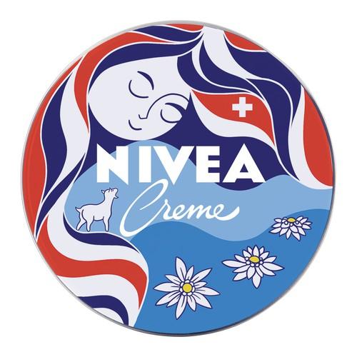 Illustration for limited edition Nivea