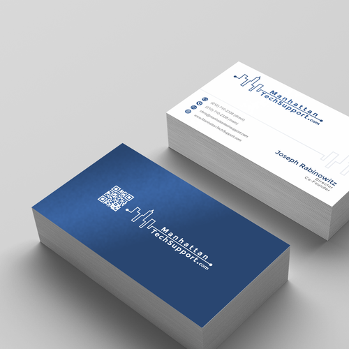Profesional Logo & Business Card with QR code