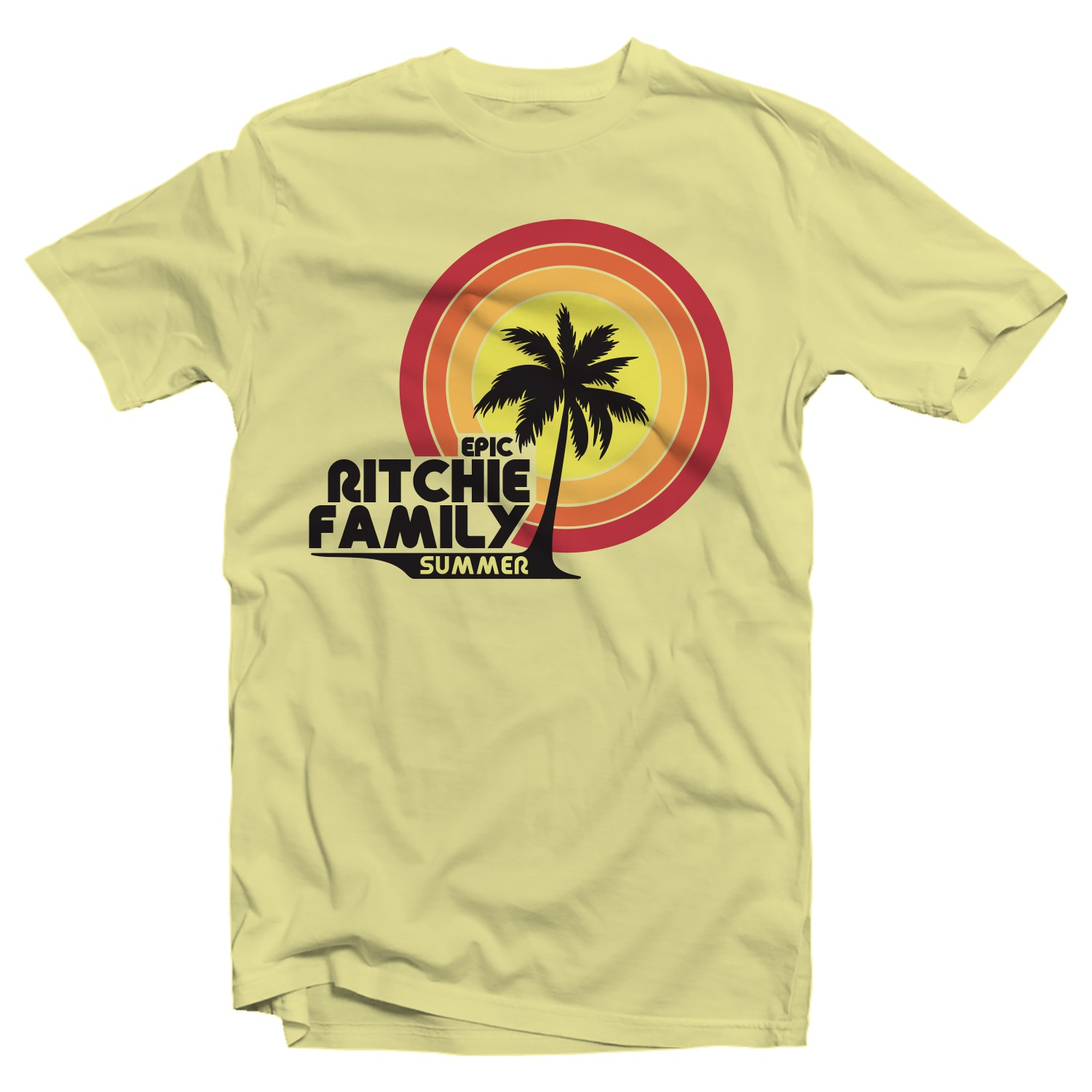 Epic Ritchie Family Summer shirts!