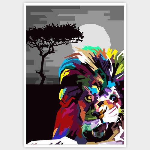 Colorful Animal Illustration