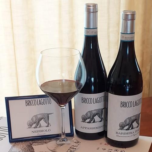 Bricco Lagotto wine labels