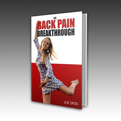 The Back Pain Breakthrough bokk cover design