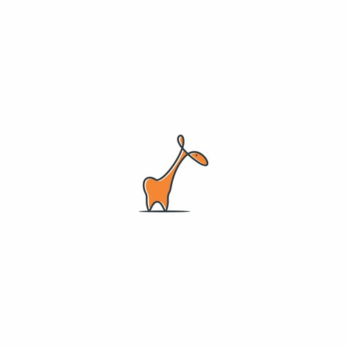 LOGO Laughing Giraffe Children's Dentistry