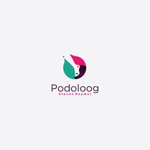 podoloog logo concept