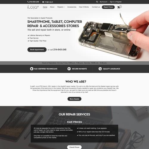 E-commerce Store Website