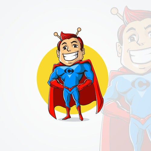 hero mascot