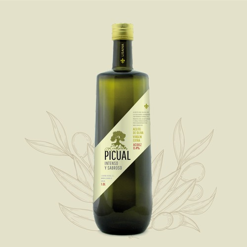 olive oil quality label