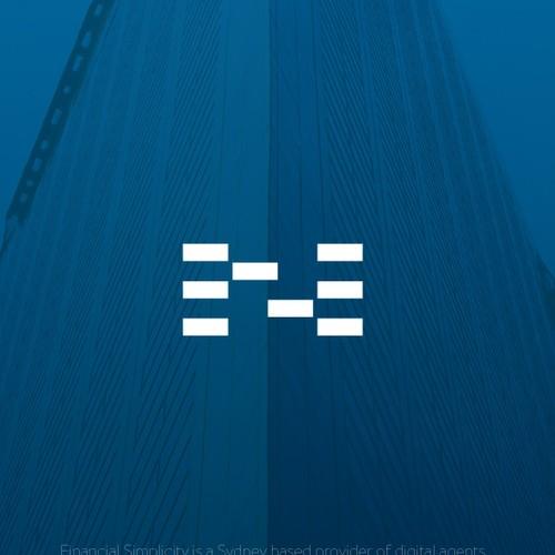 Logo for a financial brand