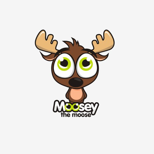 Help Moosey the moose with a new logo