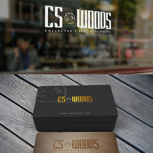 CS Woods Logo & Branding