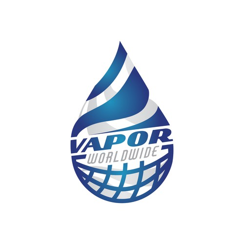 Clean logo concept for vape company