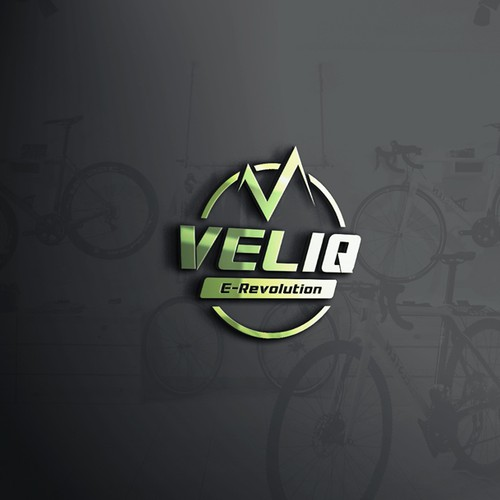 Logo design for Mountain Bicycle Brand