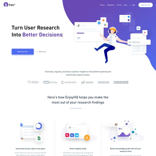 Customer Research Platform (Saas)