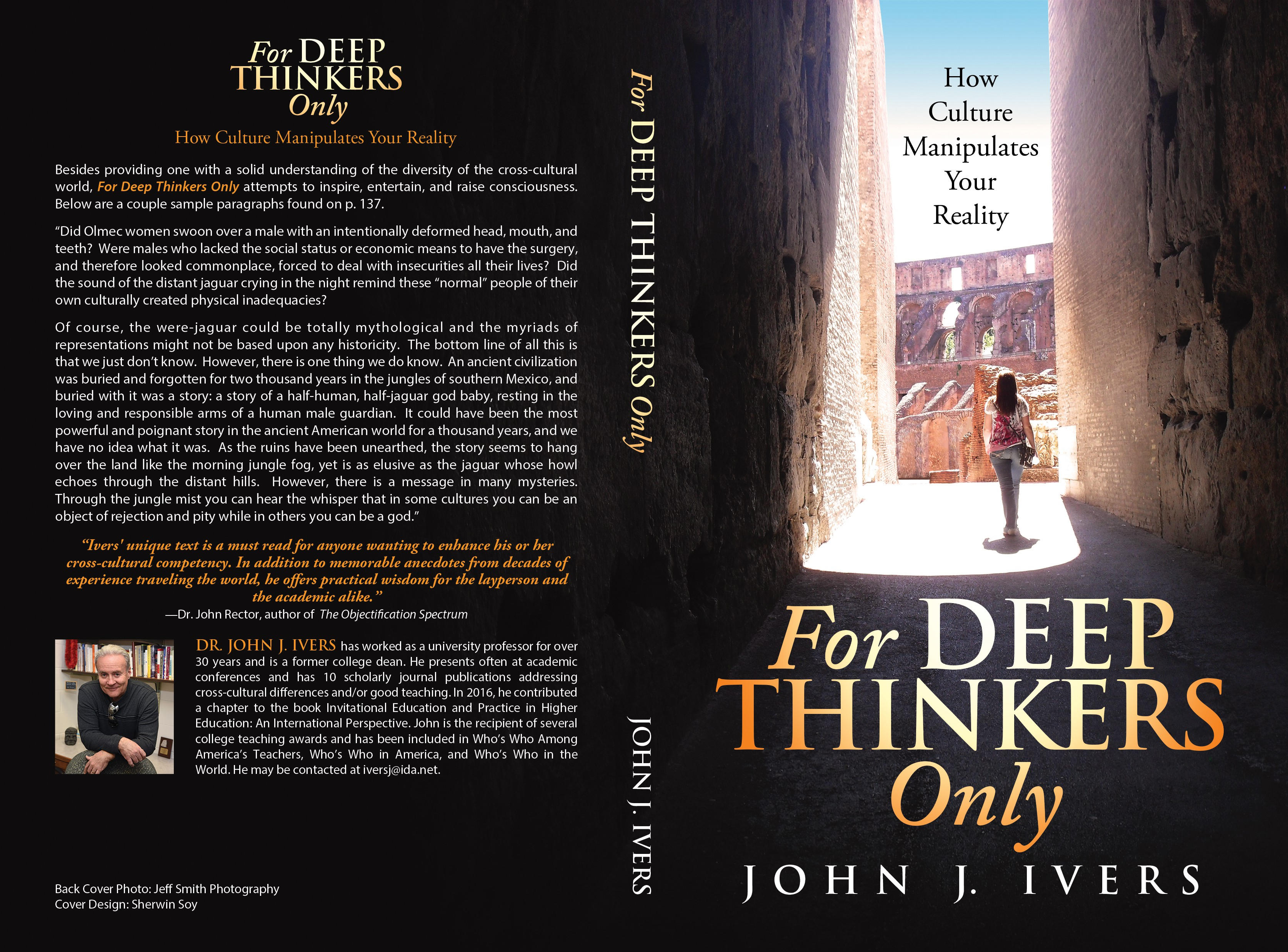 Design a cover that will appeal to deep thinkers