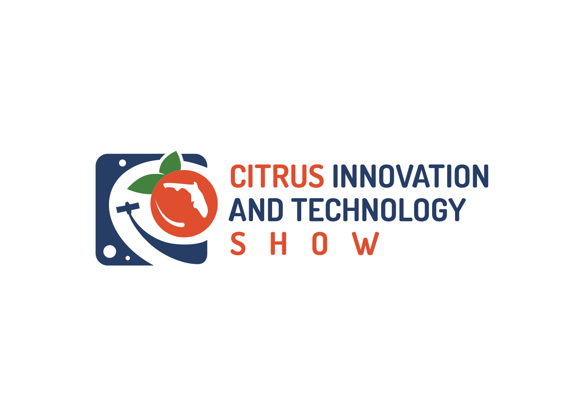 A logo for a Citrus Innovation and Technology Expo