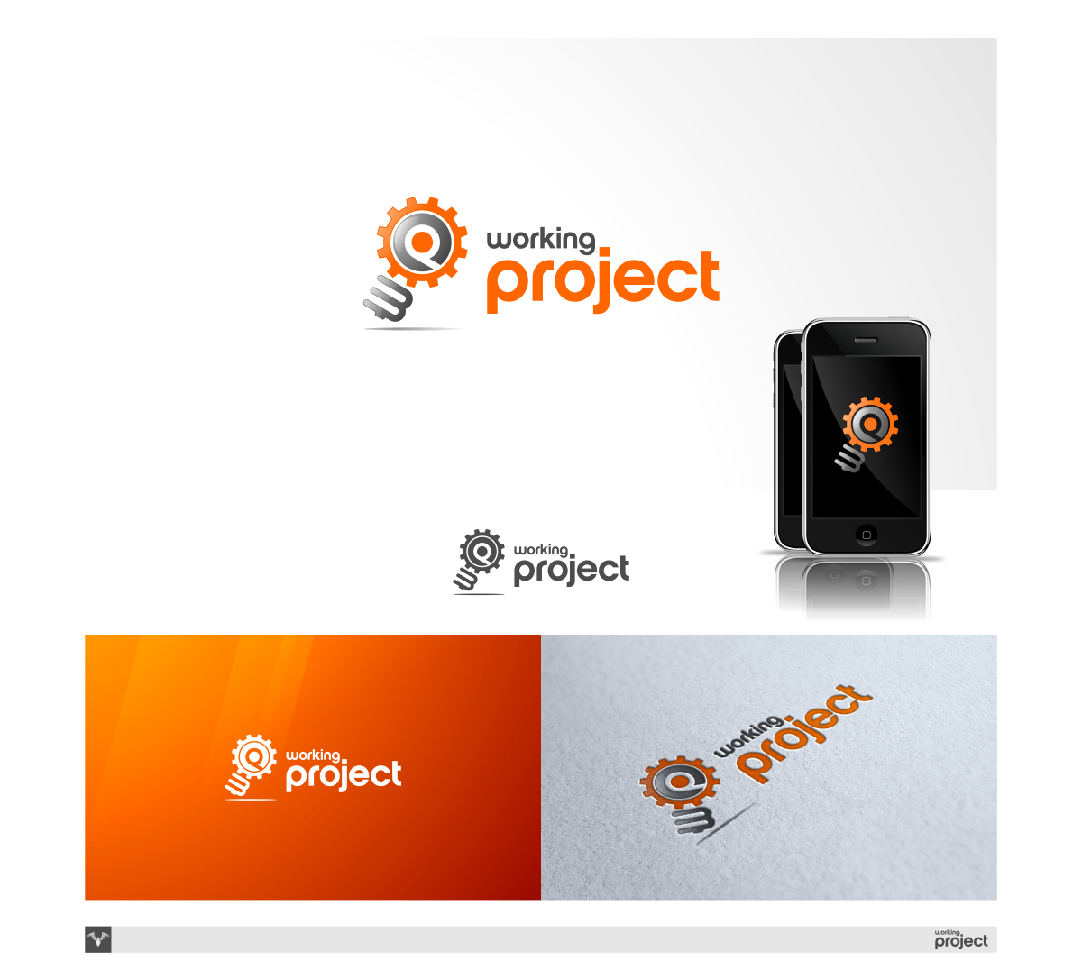 New logo for Working Project, Inc.