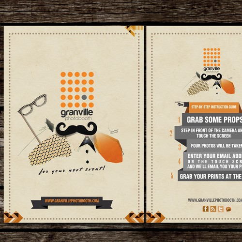 ---===Help Granville Photobooth with a new event flyer===---
