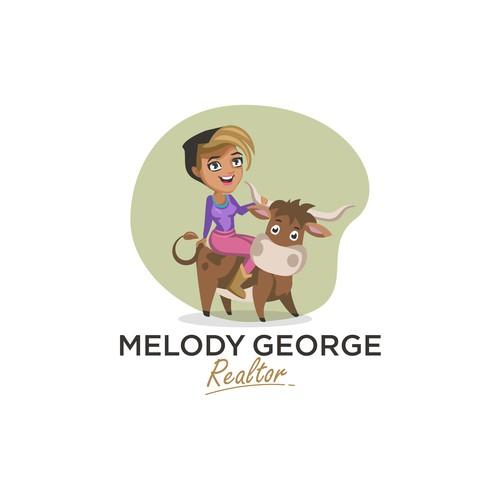 Logo/Mascot design for Melody George