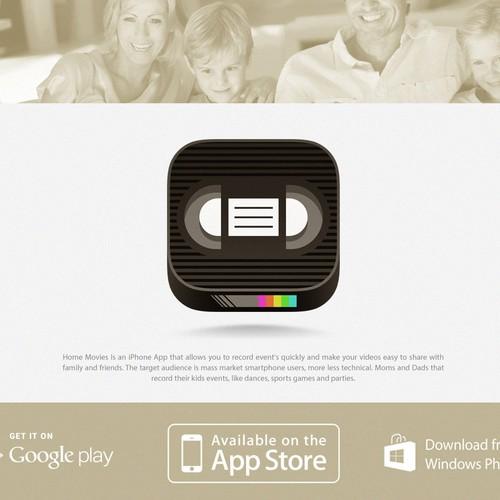 Icon concept for video recording