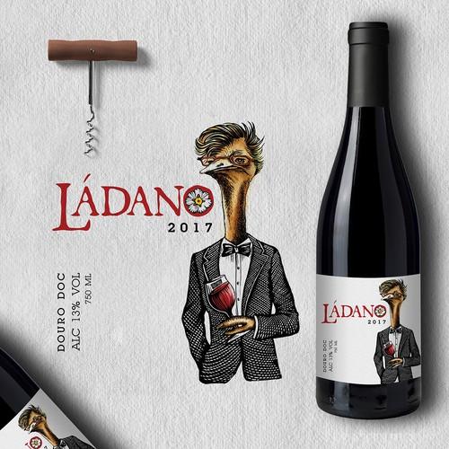 ladano wine label
