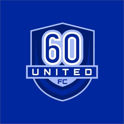 Winner 60 United FC Logo Design