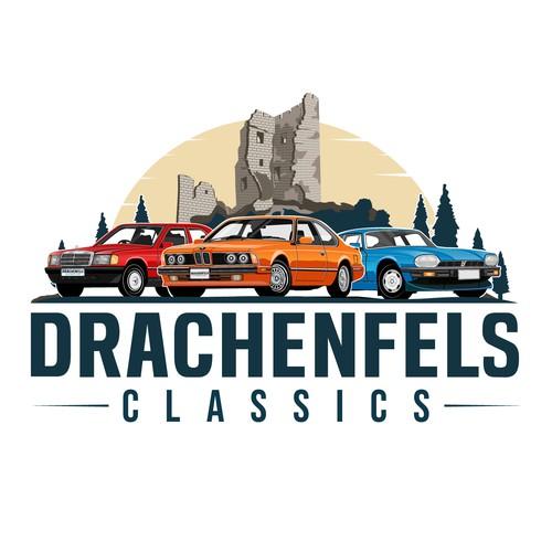 Winning logo for Drachenfels Classics