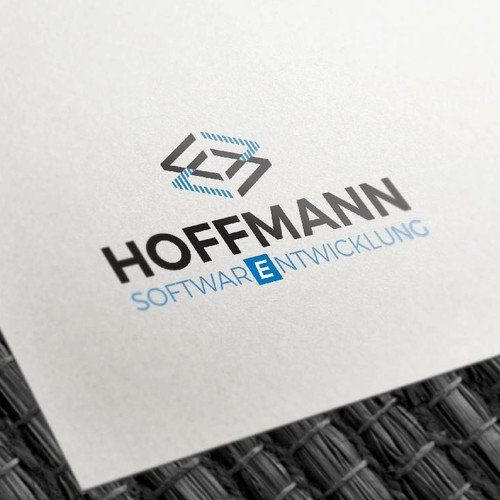 Clean logo for Software Developer