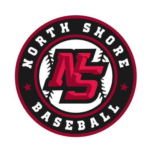 Sport logo for youth baseball organization