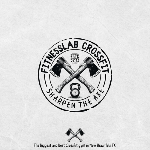 Concept logo for FITNESSLAB CROSSFIT