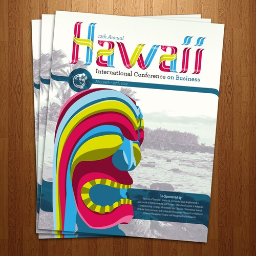 Help Hawaii International Conferences with a new postcard or flyer